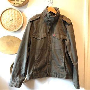 Levi's military jacket barely worn